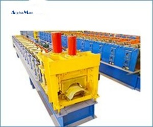 Ridge tile forming production line