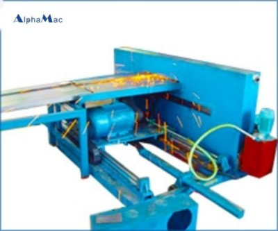 Carriage plate forming production line